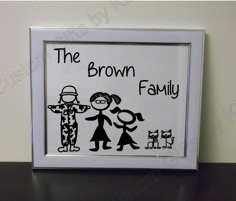 Stick Figure Family Picutre