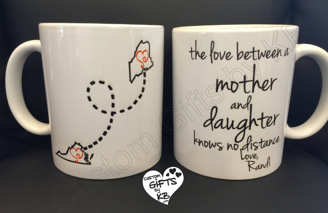 father and daughter mug custom gifts by kb. Black Bedroom Furniture Sets. Home Design Ideas